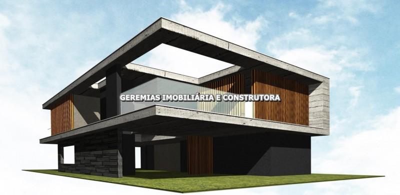Sobrado em construção com 425m² e com 5 suítes no condomínio Sense em Xangri-lá-RS