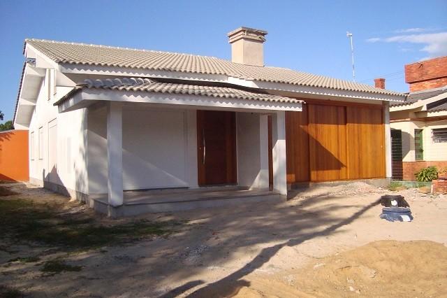 Casa em construção em Noiva do Mar